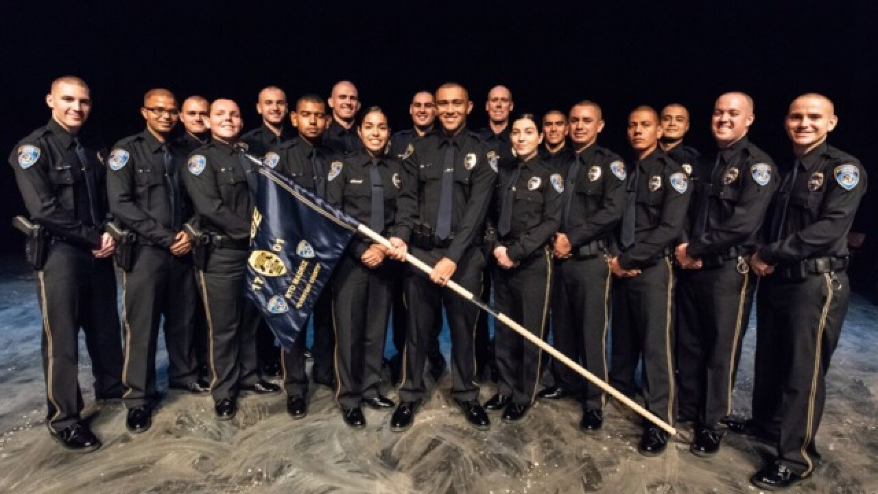 The Bakersfield Police Department welcomes 18 new police officers