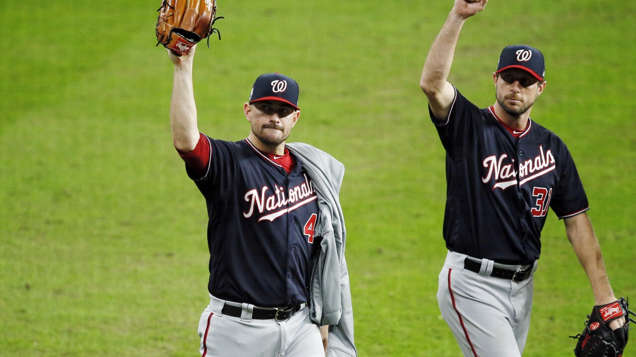 Washington Nationals force Game 7 with another World Series road win
