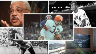 Cleveland sports collage