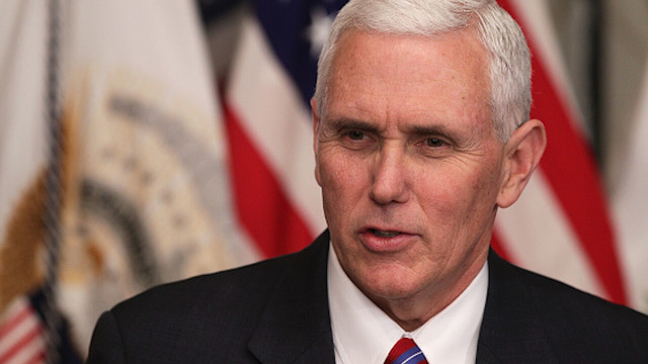 Vice President Pence responds to criticism of his use of personal email as governor