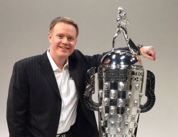 LIVE: In NYC with the Borg-Warner trophy
