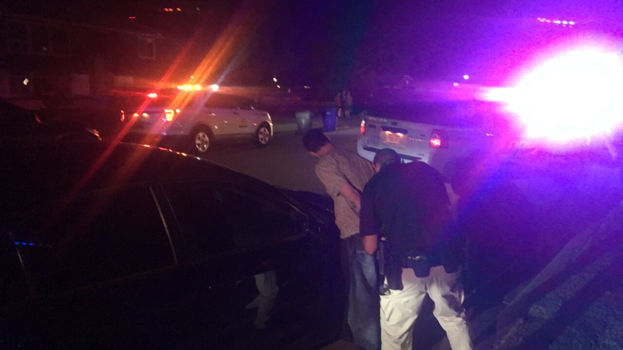 Three arrested after Taylorsville chase, two hid in resident's RV