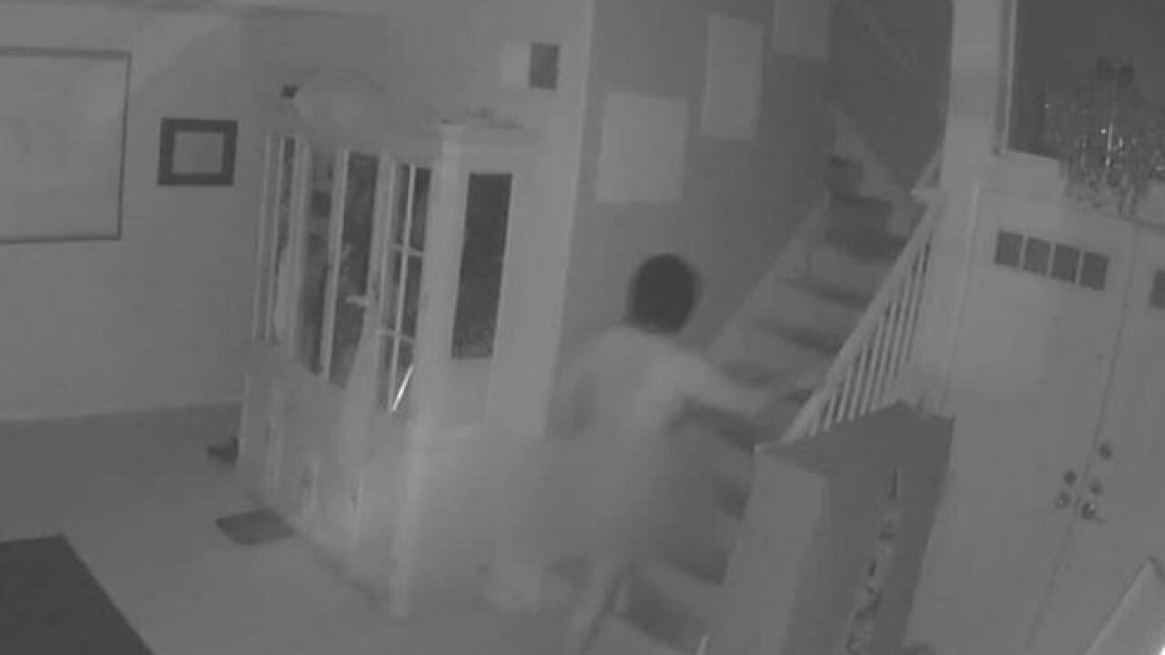 Naked man breaks into home, enters girl's room