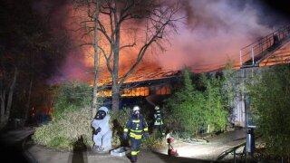 Krefeld Germany Zoo Fire