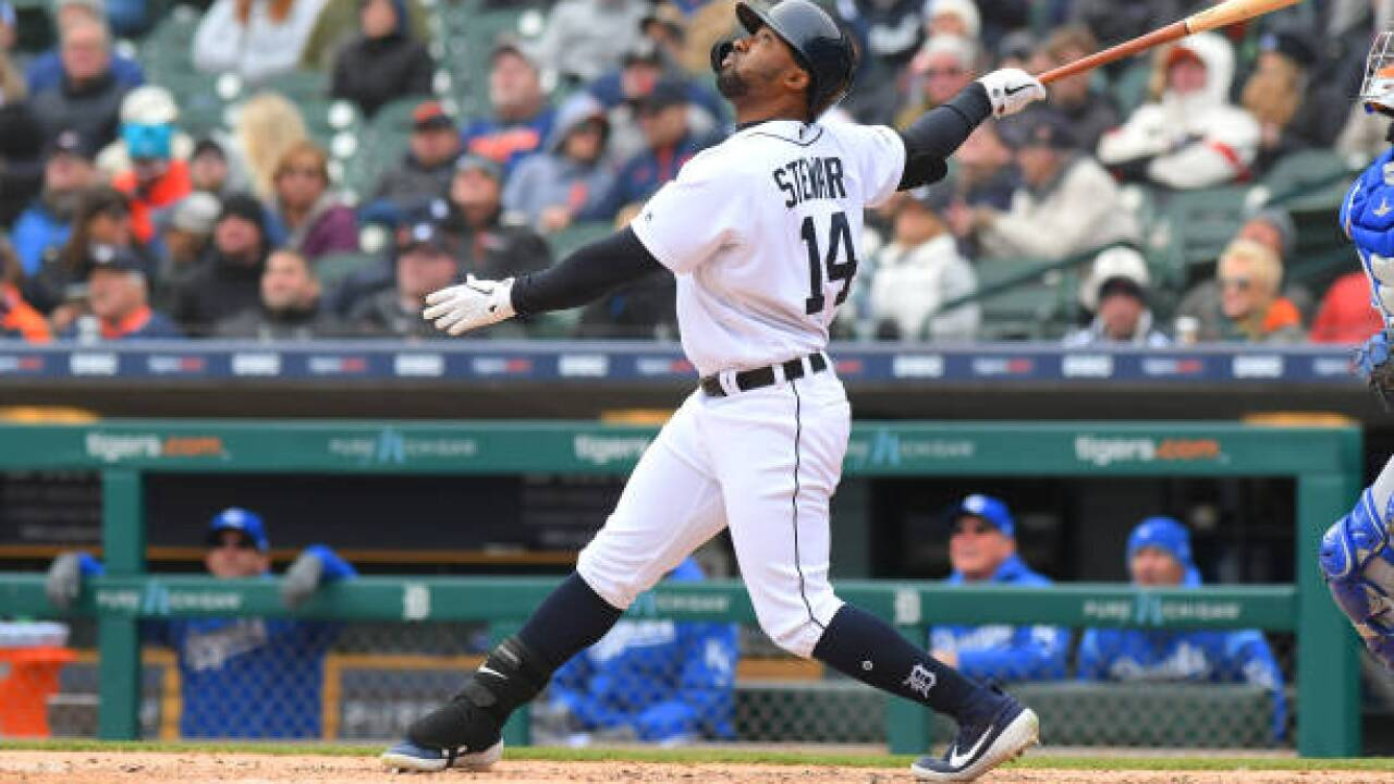 Christin Stewart's grand slam lifts Tigers over Royals