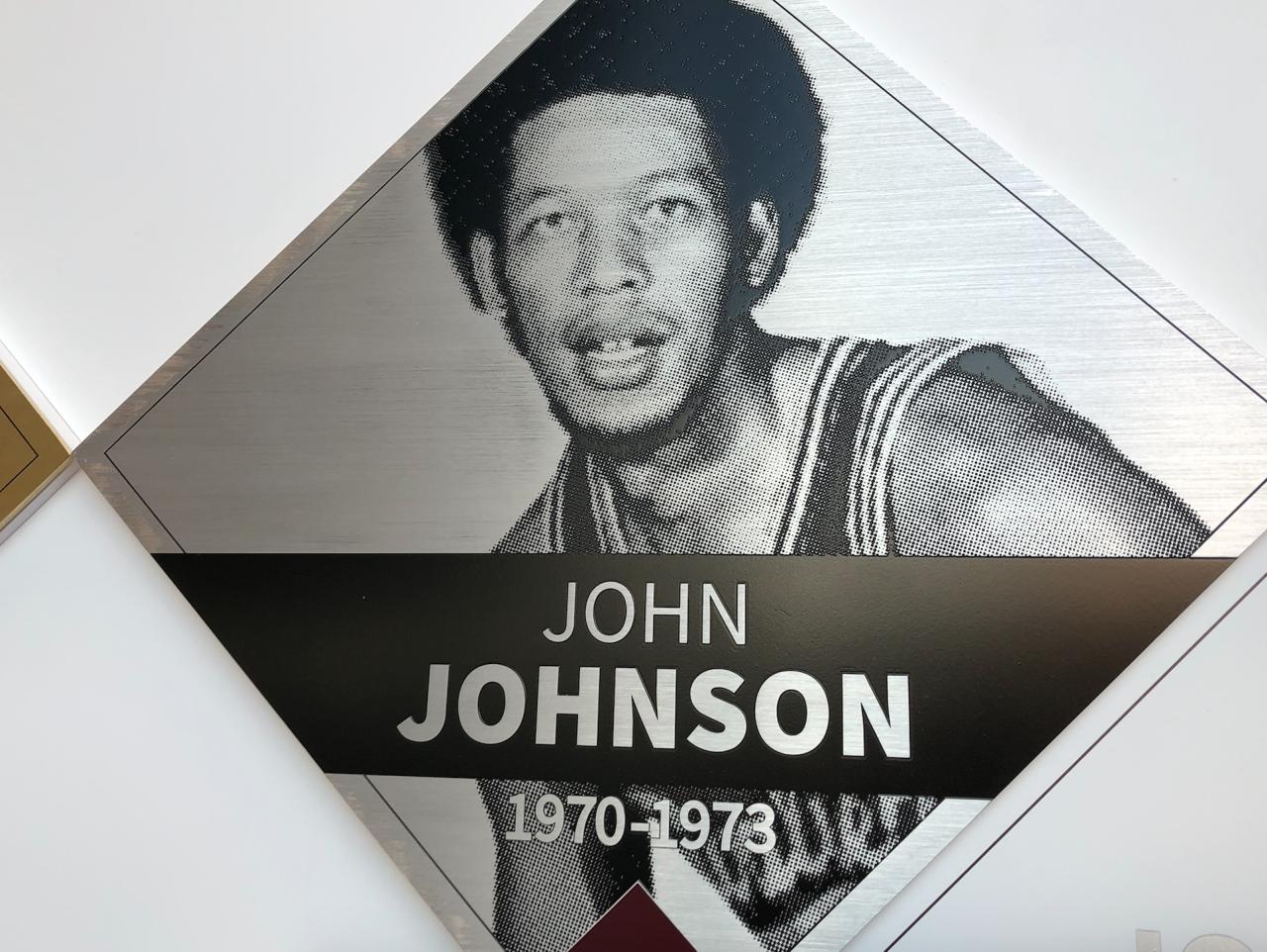 John Johnson Wall of Fame