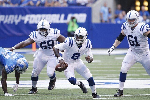 PHOTOS: Colts lose to Lions in first preseason game