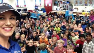 Storm Safe visits Chipeta Elementary