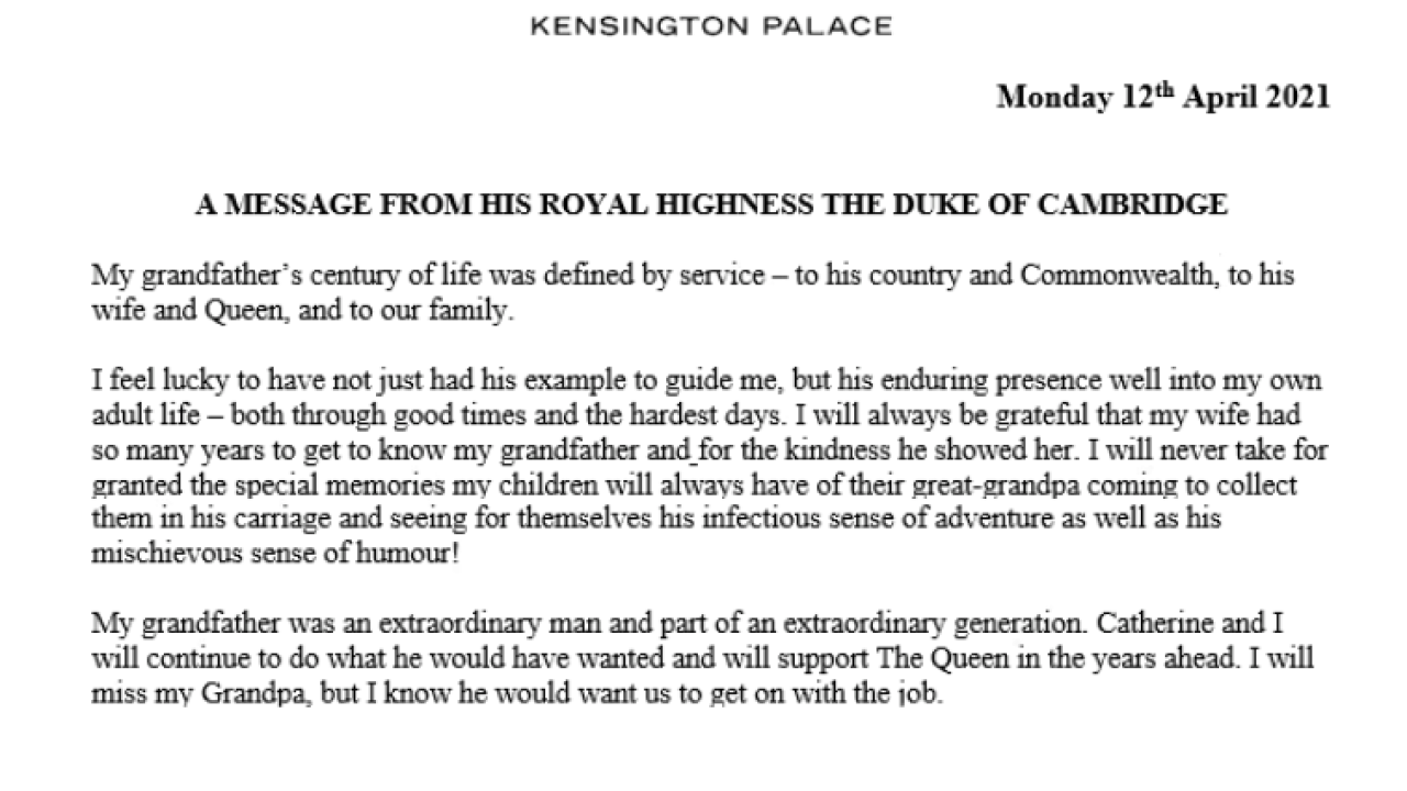prince william statement.PNG