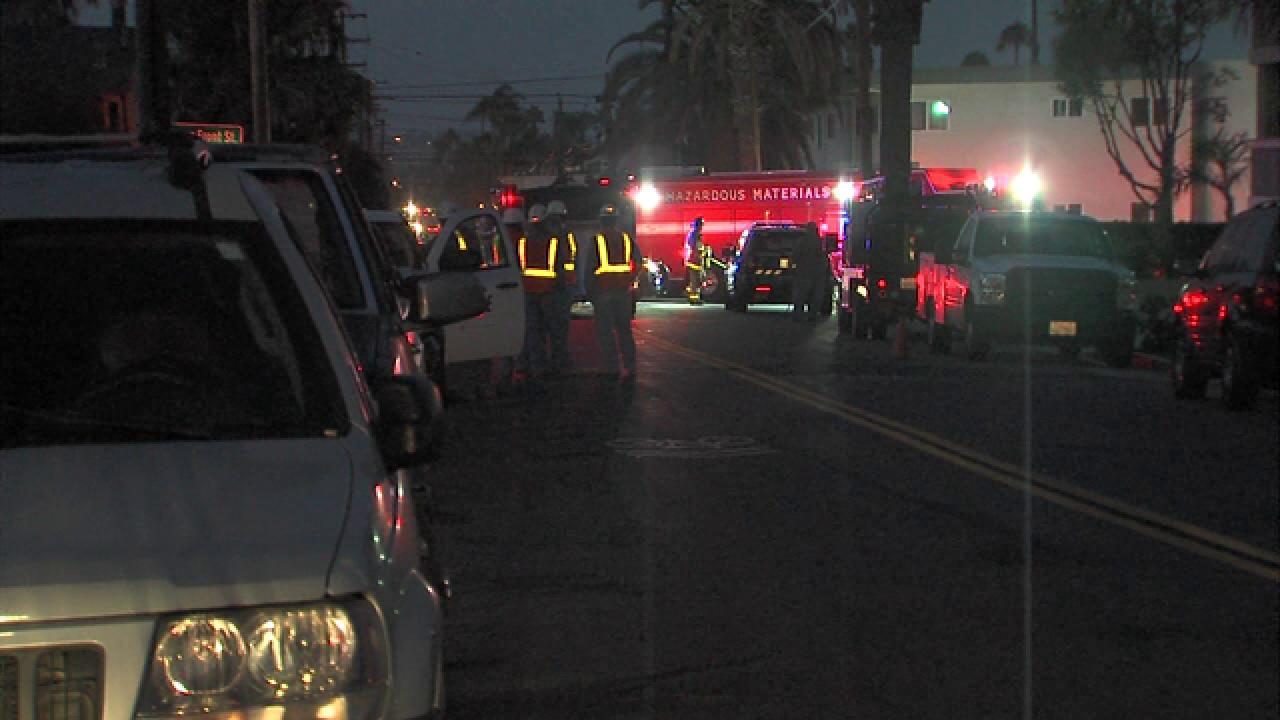 Gas leak prompts evacuations in Ocean Beach