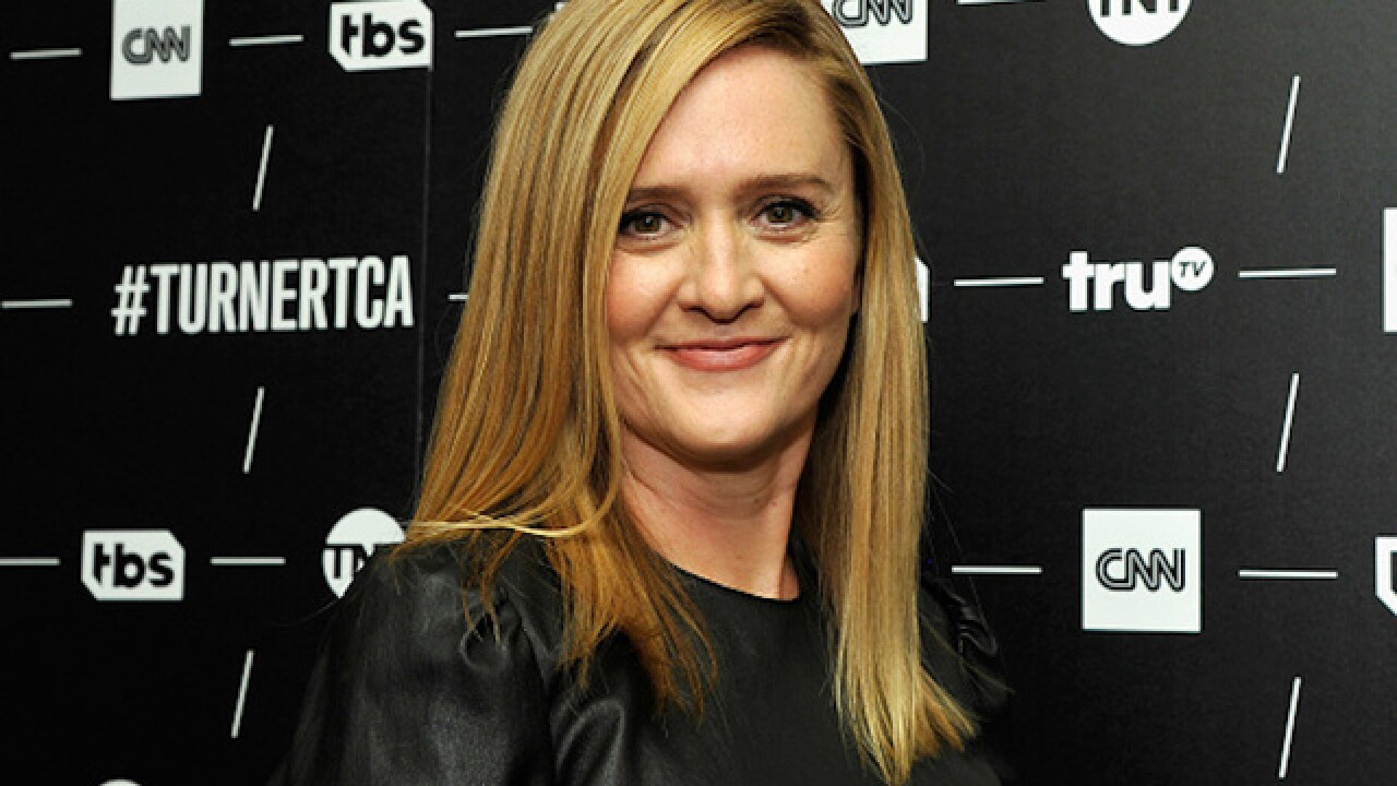 Samantha Bee holds party to spite Trump
