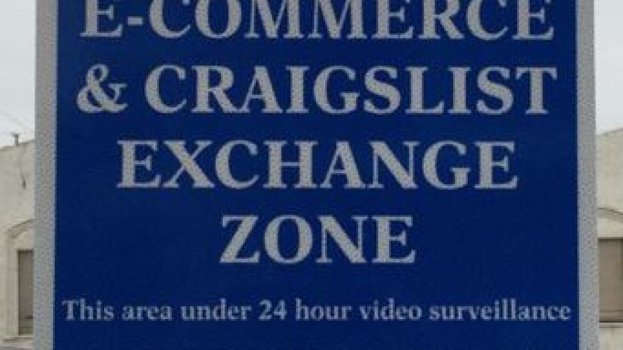 Nampa PD unveils Craigslist safe zone purchase area