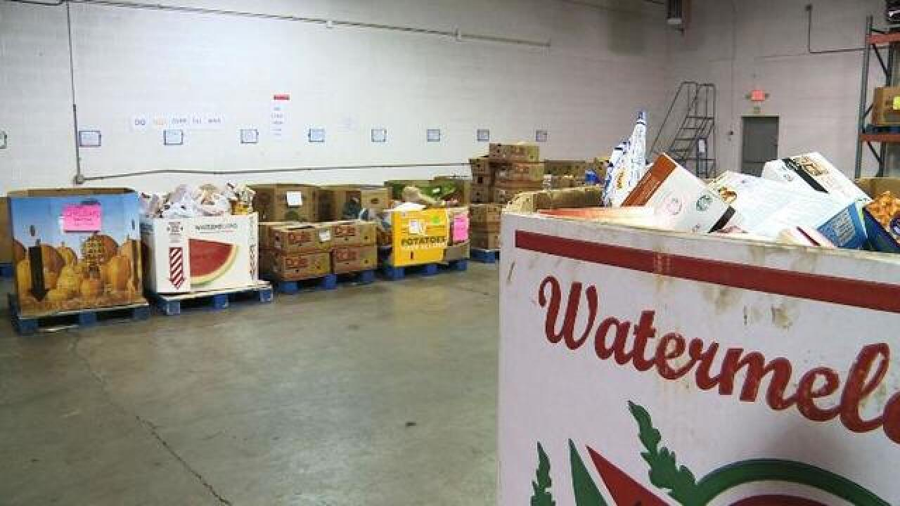Greater Lansing Food Bank Raises Awareness Of Food Insecurity During Hunger Action Month