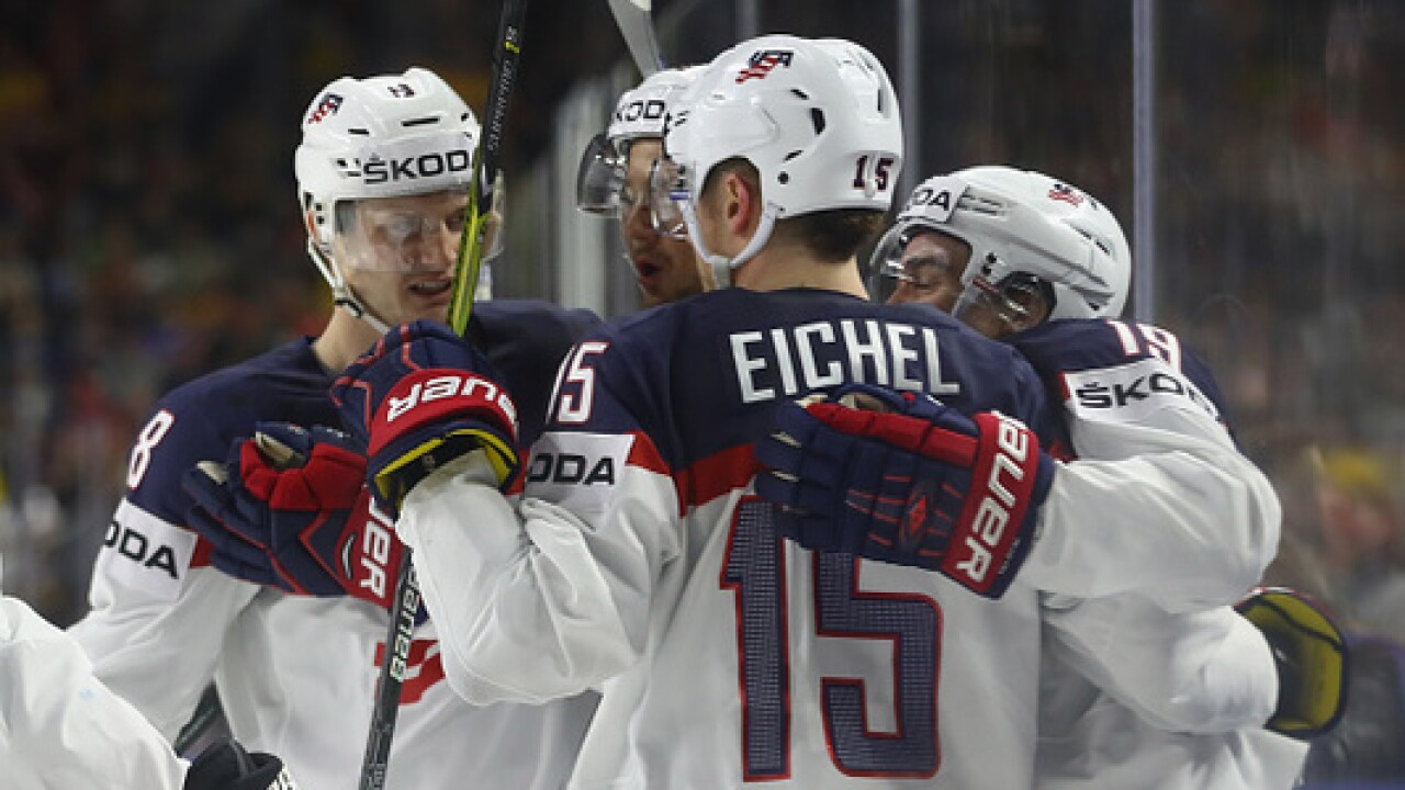 Eichel, USA rattle off third straight win against Italy