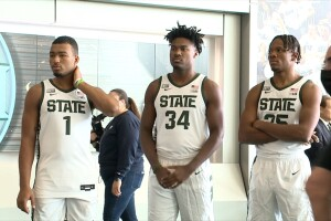 Michigan State basketball media day