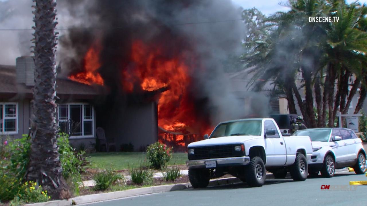 Carlsbad house fire