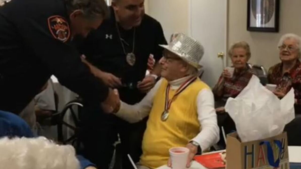 Lakeland man turns 107 years old