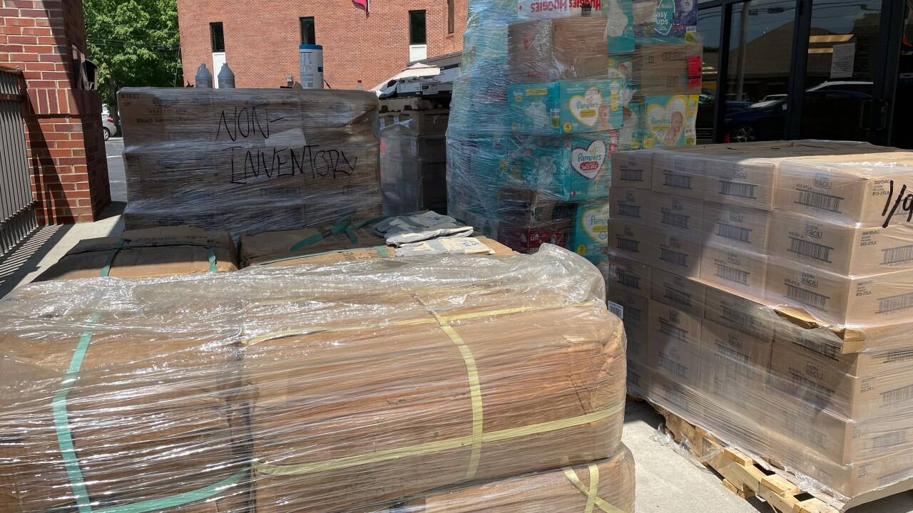 Humphreys County donations