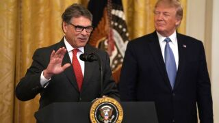 Rick Perry to step down from Trump administration