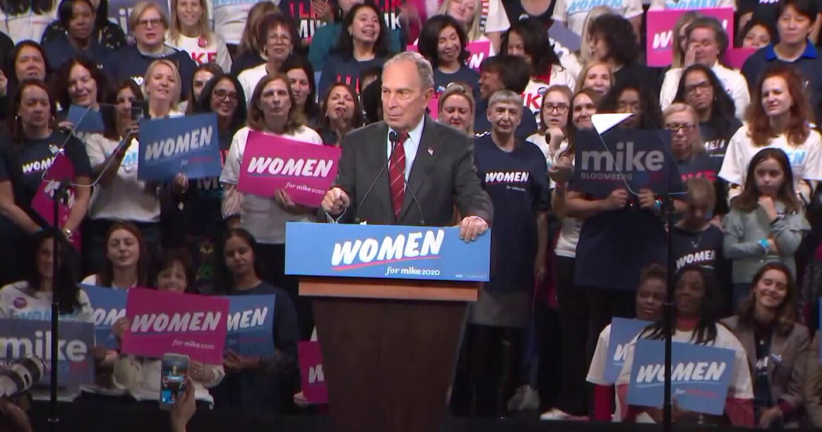 Michael Bloomberg launches 'Women for Mike' campaign in NYC