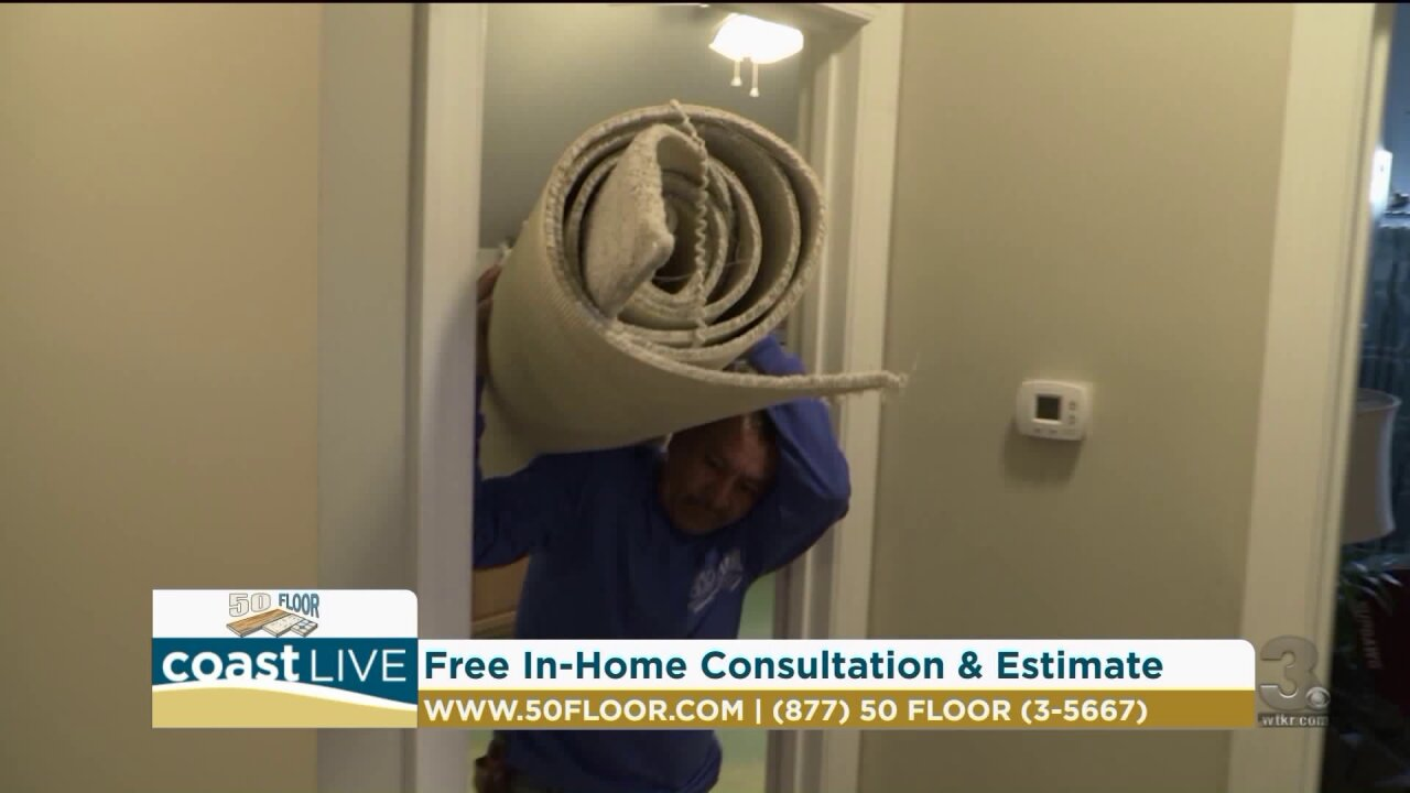 Creating a relaxing space and updating the floors in your home on Coast Live
