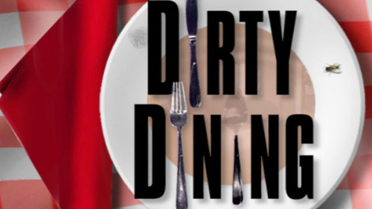 DIRTY DINING: Mexican eatery temporarily closed