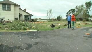Coweta tornado damage recovery