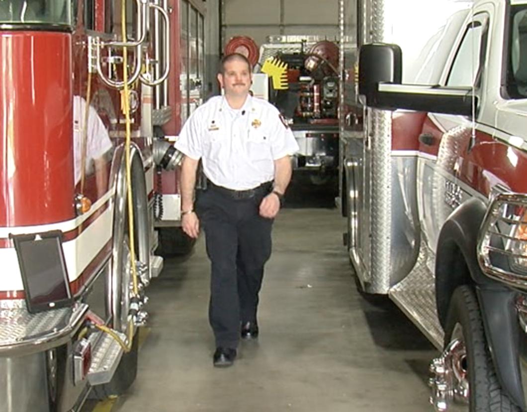 Pierce Township Fire Chief Craig Wright.