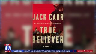Author and former Navy SEAL Jack Carr speaks on new book 'True Believer'