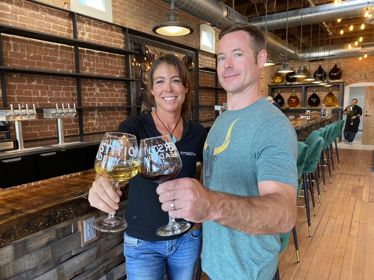 Superstition Meadery - Jeff and Jennifer Herbert