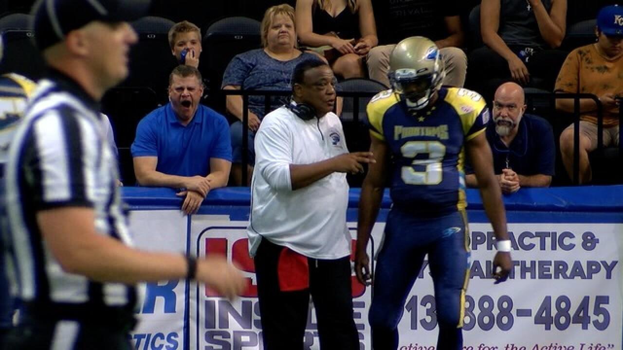 KC Phantoms coach has deep basketball ties
