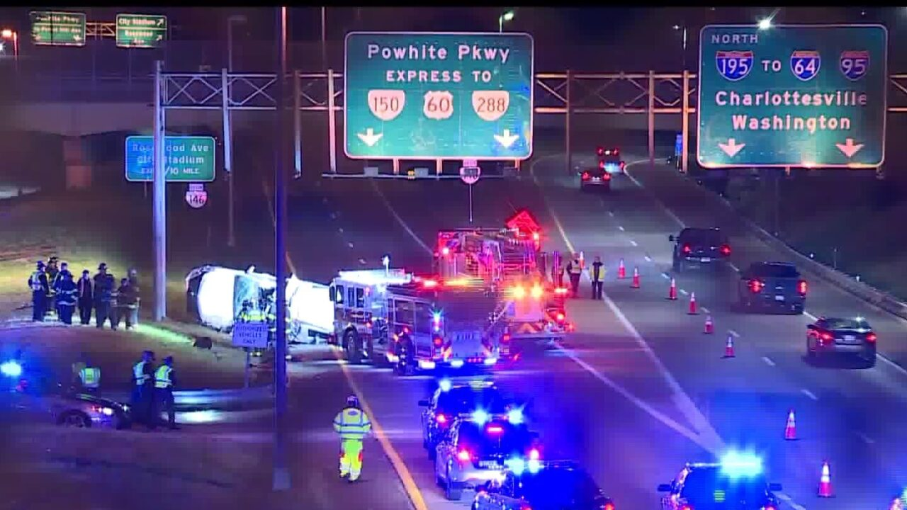 Police: One dead in crash on Downtown Expressway