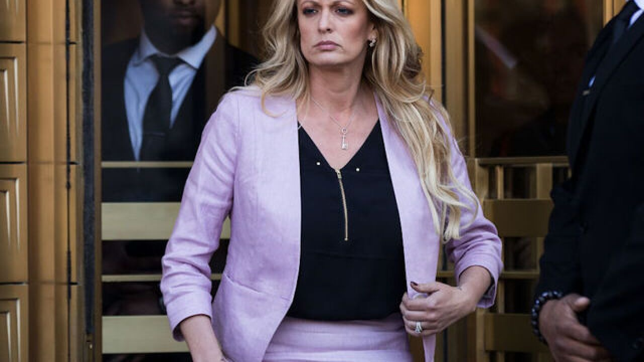 President Donald Trump changes his story about Stormy Daniels