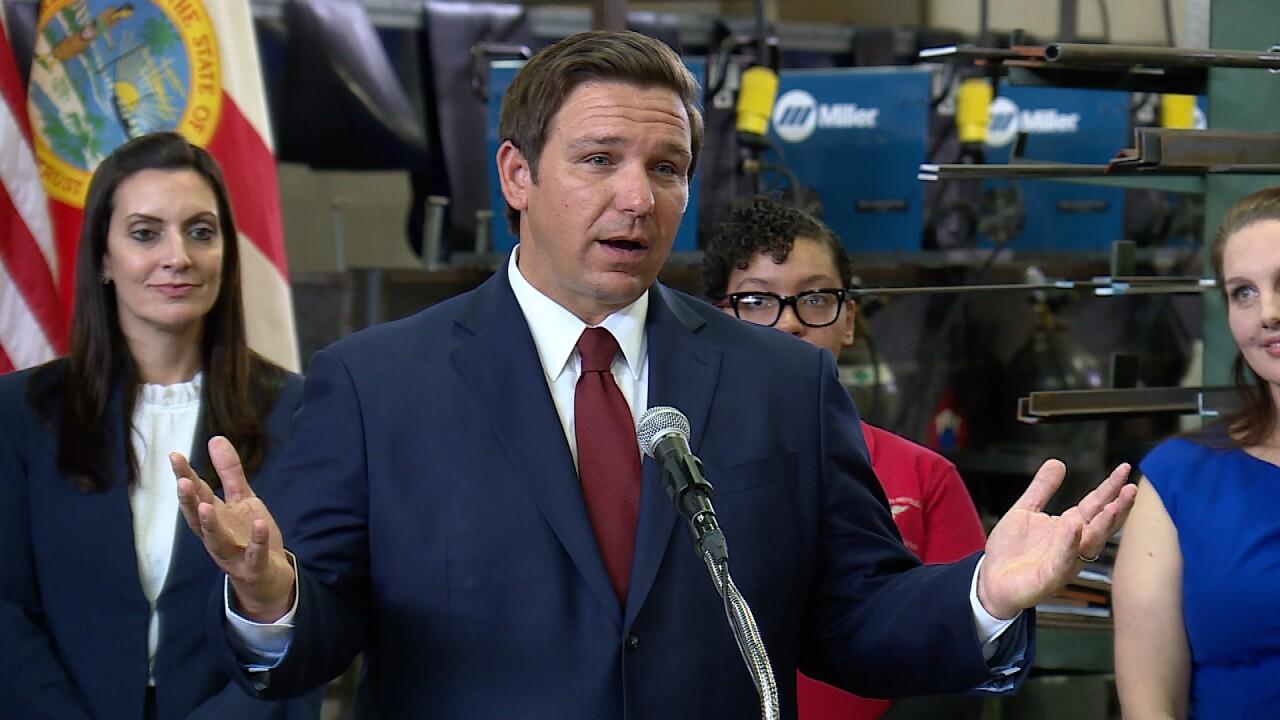 Florida Governor, Ron DeSantis