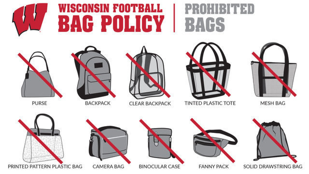 Clear bags part of Camp Randall carry-in policy