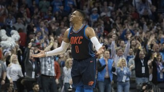 Russell Westbrook named Western Conference Player of the Week after leading team to 4-0 record