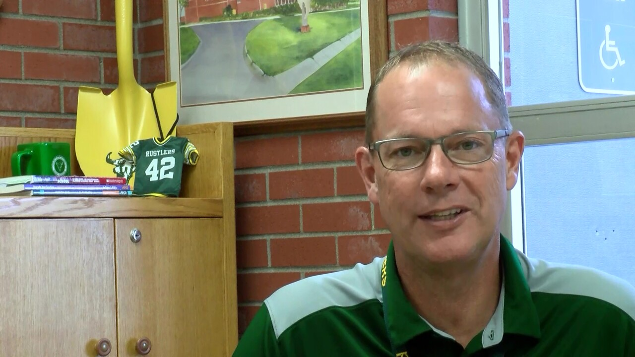 CMR High School Principal Kerry Parsons