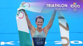 Tokyo Olympics triathlon in review: A year of firsts