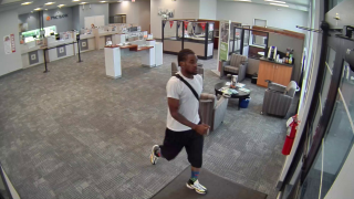 Suspect in Mason bank robbery