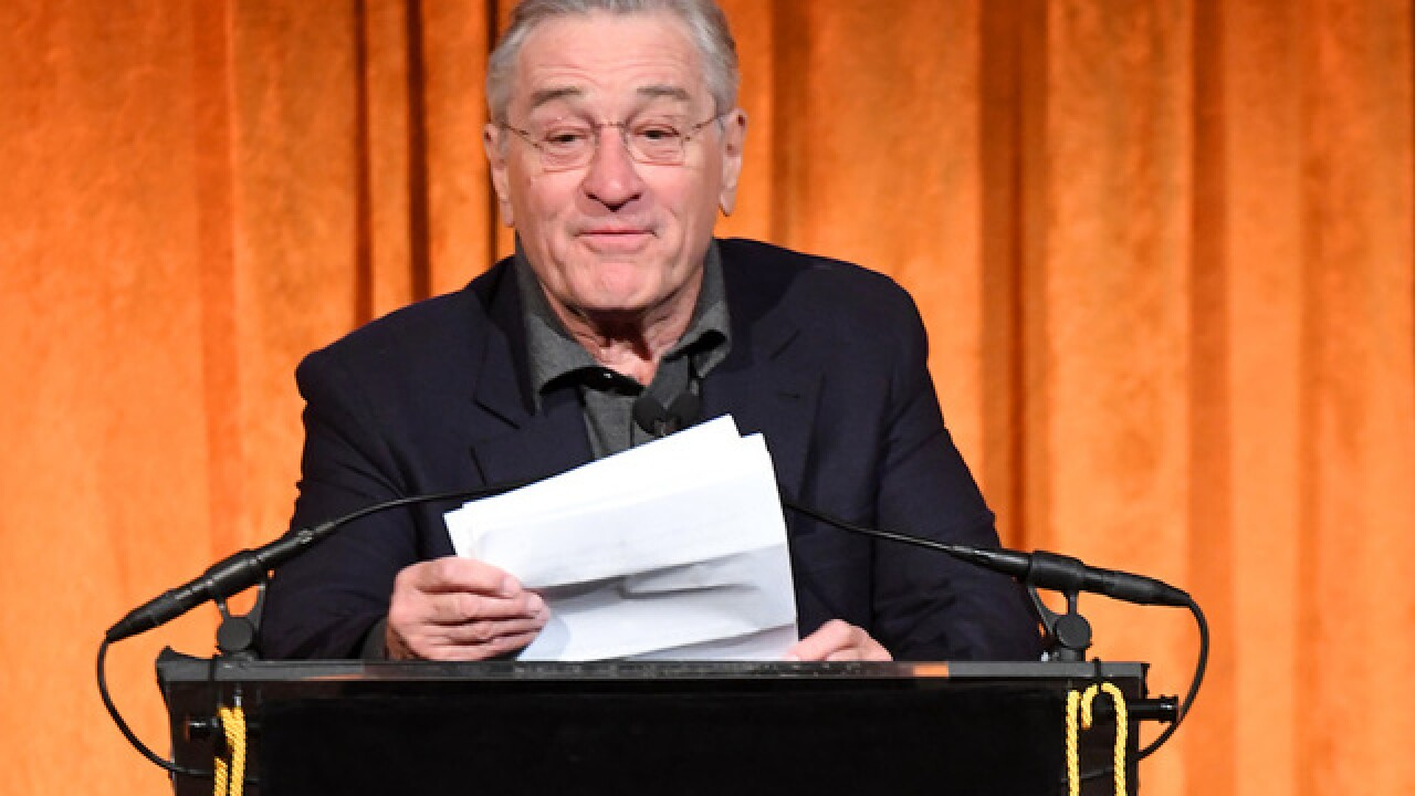 Robert De Niro unleashes profanity-laced rant against Trump
