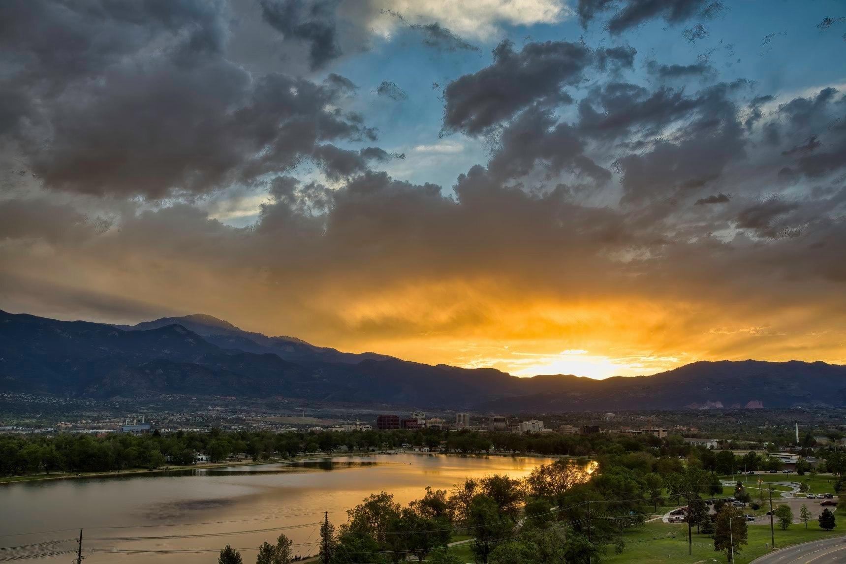 Sunset Colorado Springs