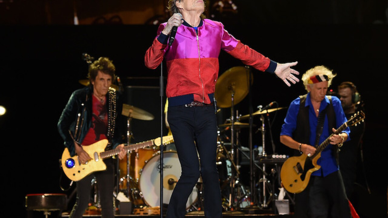 Great-grandpa Mick Jagger becomes father again