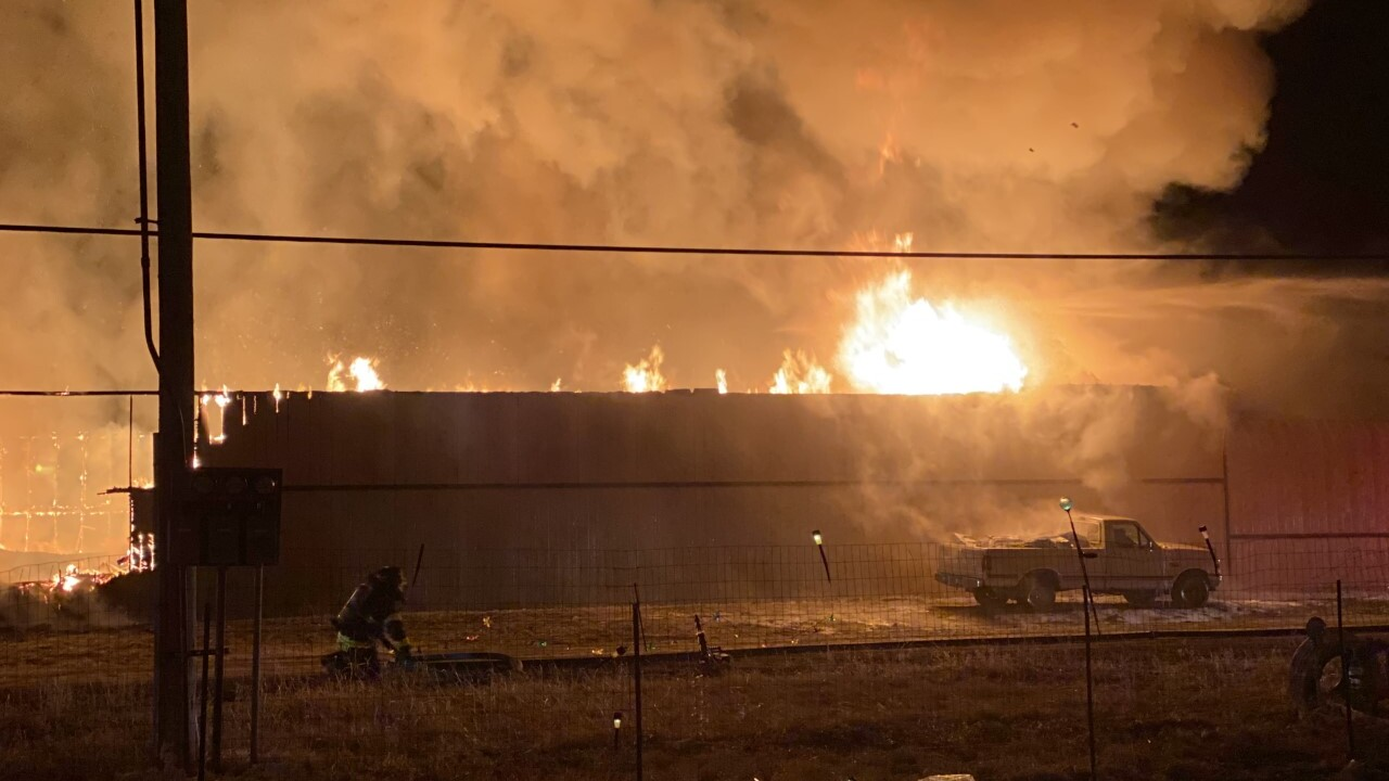 East Helena truss plant destroyed in fire