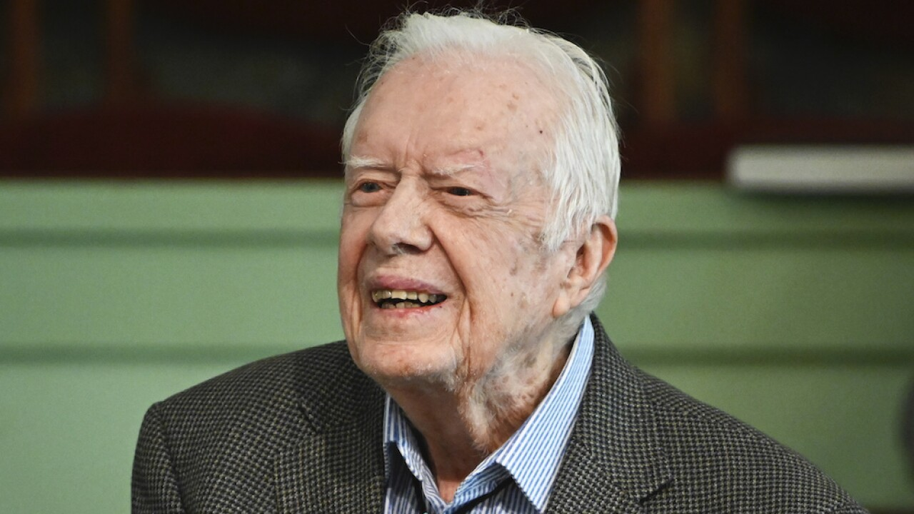 President Jimmy Carter celebrates 96th birthday