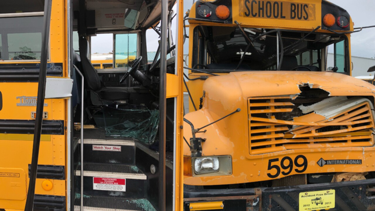 20 school buses going from Pasco to Bay County