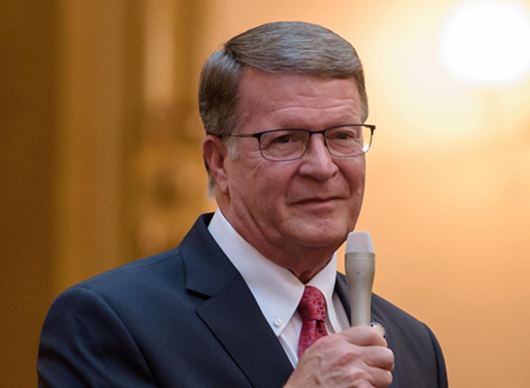 Sen. Steve Wilson sponsored a bill to create a state plan confronting Alzheimer's.
