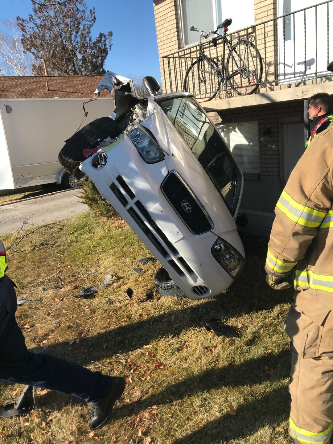 Photos: Off-duty Utah Co. Sgt. catches DUI suspect who fled crash