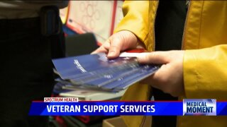 Medical Moment: Students celebrating Veterans Day with Spectrum Health