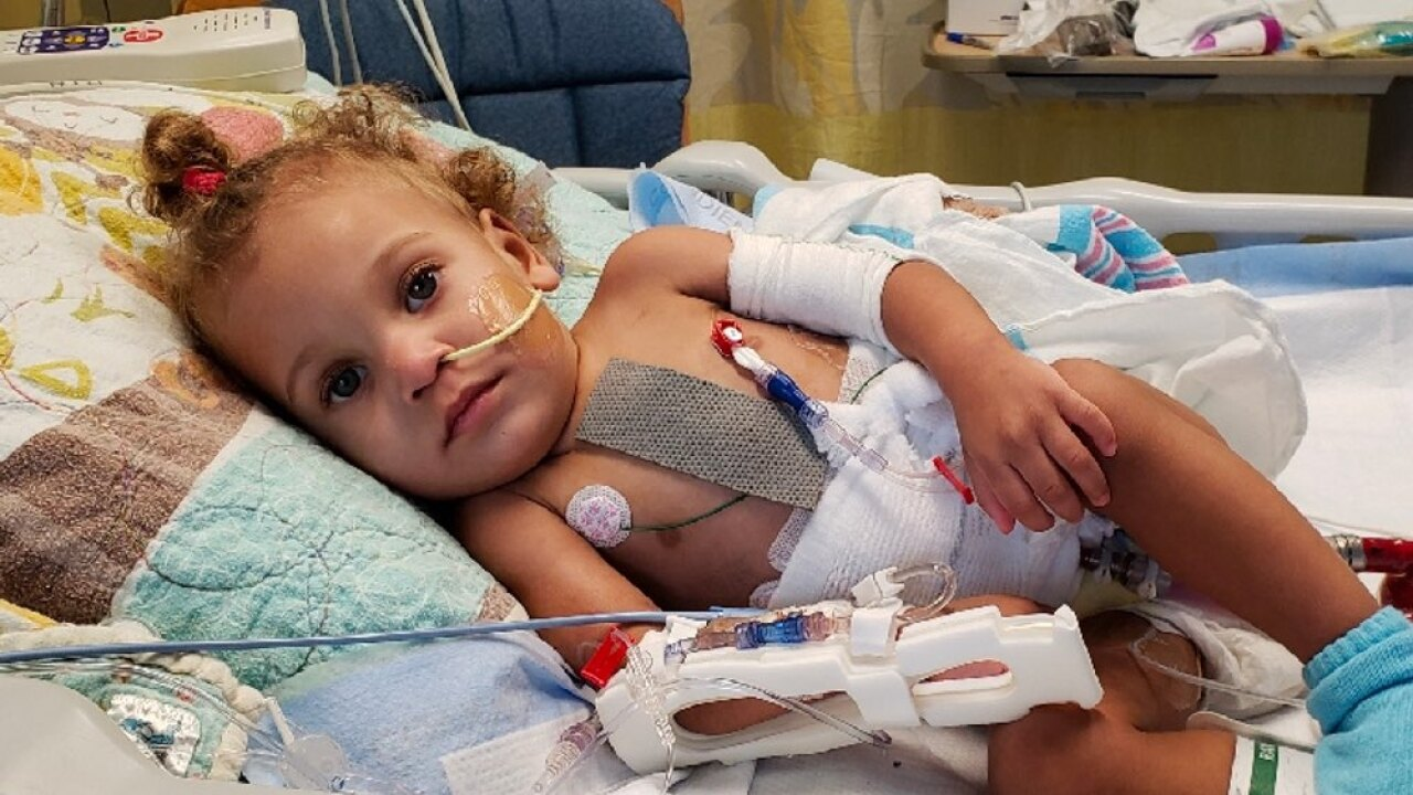 Cheviot toddler needs a new heart — and her mom needs your help to be with her