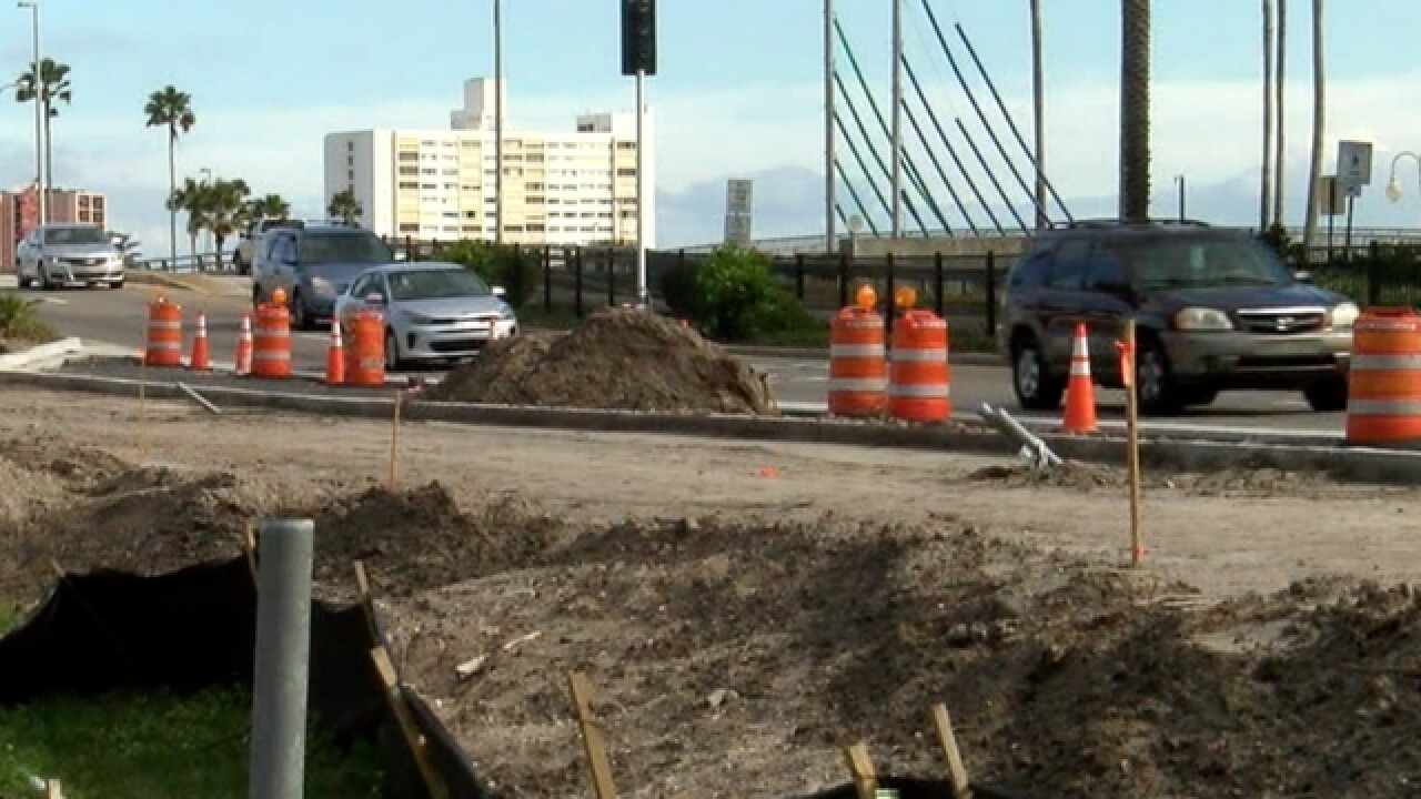Project aiming to ease Clearwater Beach traffic
